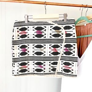 Aztec Fringe Vero Moda Mini Skirt